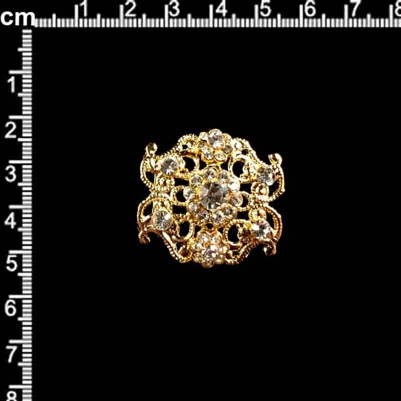 Manilla 2104, cristal, oro.