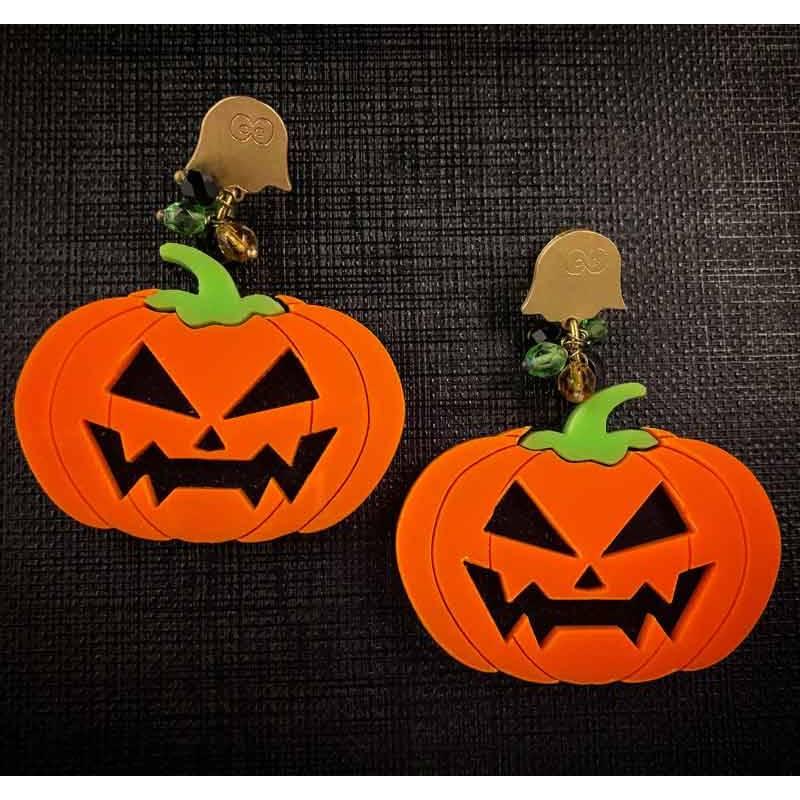 Pendientes calabazas Halloween