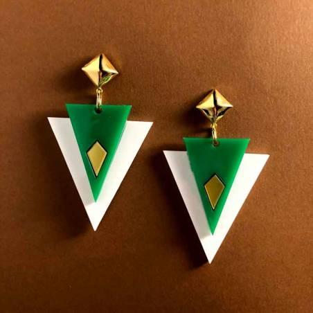 Pendientes Dreieck Gaman