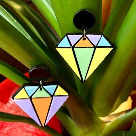 Pendientes Diamond by SdSilvia