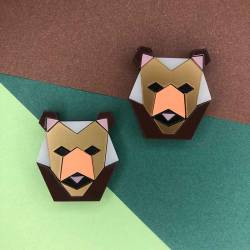 PENDIENTES COLORED BEARS