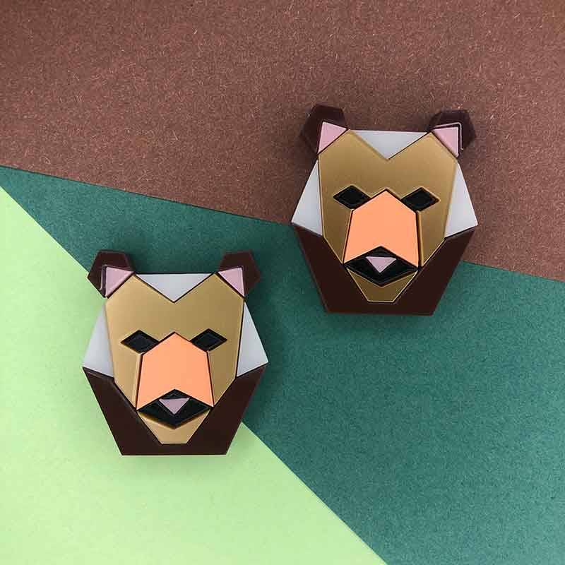 PENDIENTES COLORED BEARS