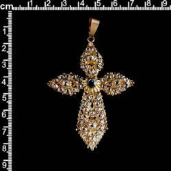 Cruz 2055, cristal, oro