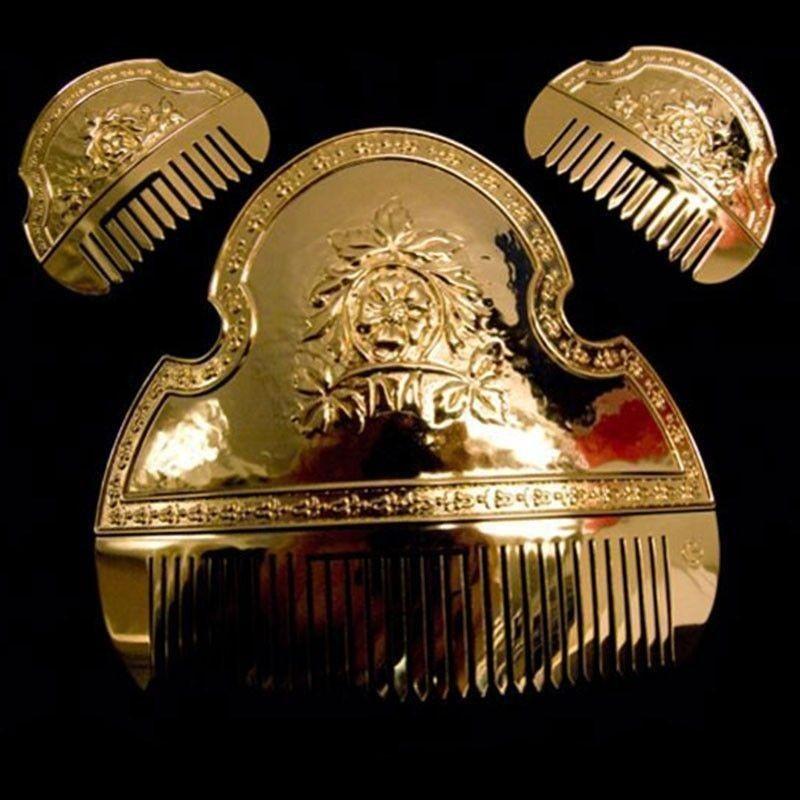 Peineta de fallera, T1P, oro.