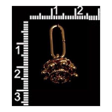 Manzaneta 15 anilla oro