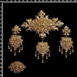 Aderezo valenciana 1002, cristal, oro.
