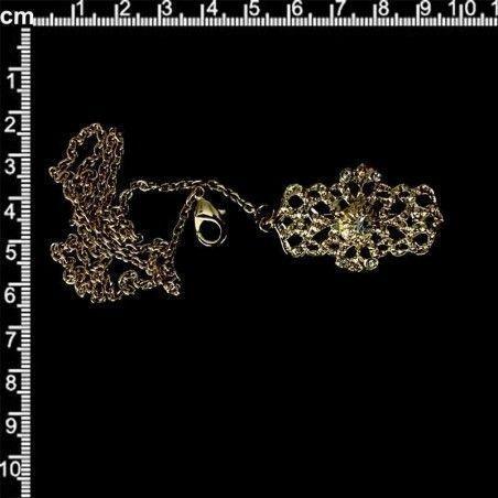 Abaniquero 1336, cristal, oro.
