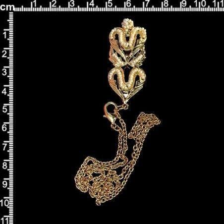 Abaniquero 926, perla natural, oro.