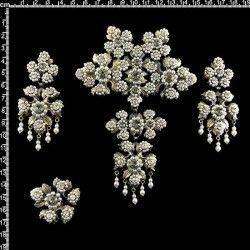 Aderezo valenciana 9205, black diamond, latón óxido.