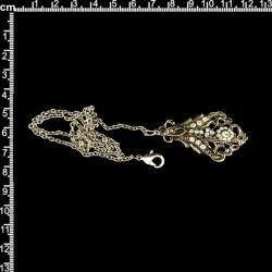 Chatelaine 14732, cristal, níquel.