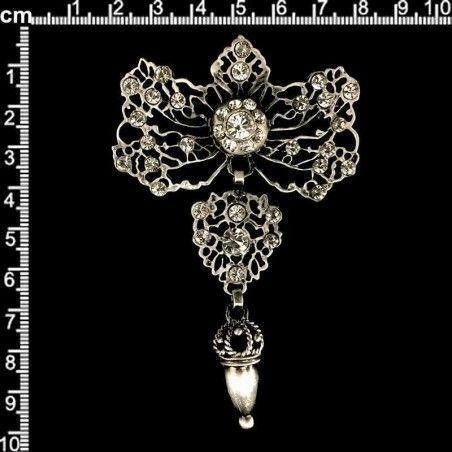 Joya huertana 985, cristal, plata óxido.