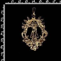 Medalla Virgen Desamparados, 14, oro