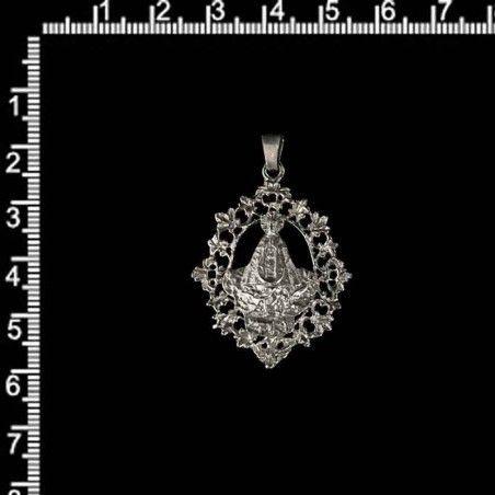 Medalla Virgen del Lidón pequeña con asa