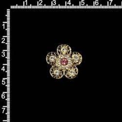 Manilla 2325, rosa, oro.