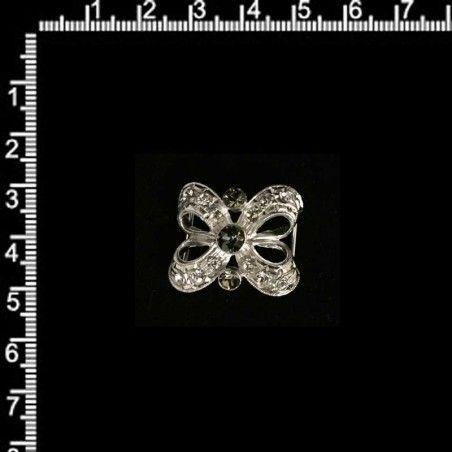 Manilla 701, black diamond, rodio.