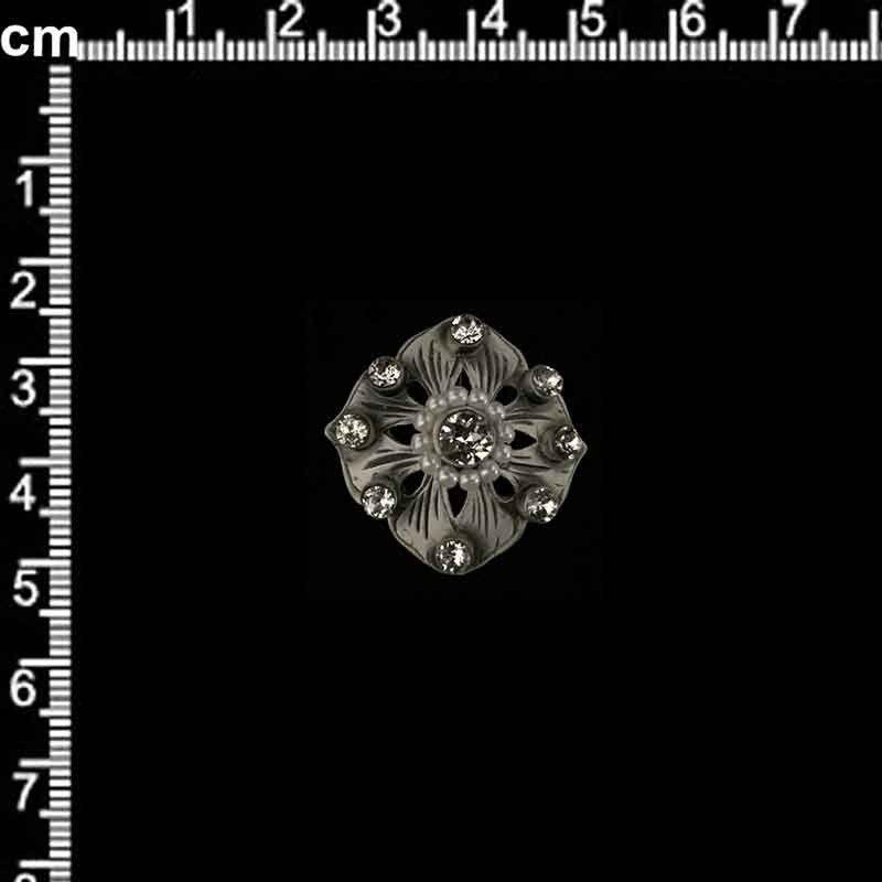 Manilla 995, cristal, plata óxido.